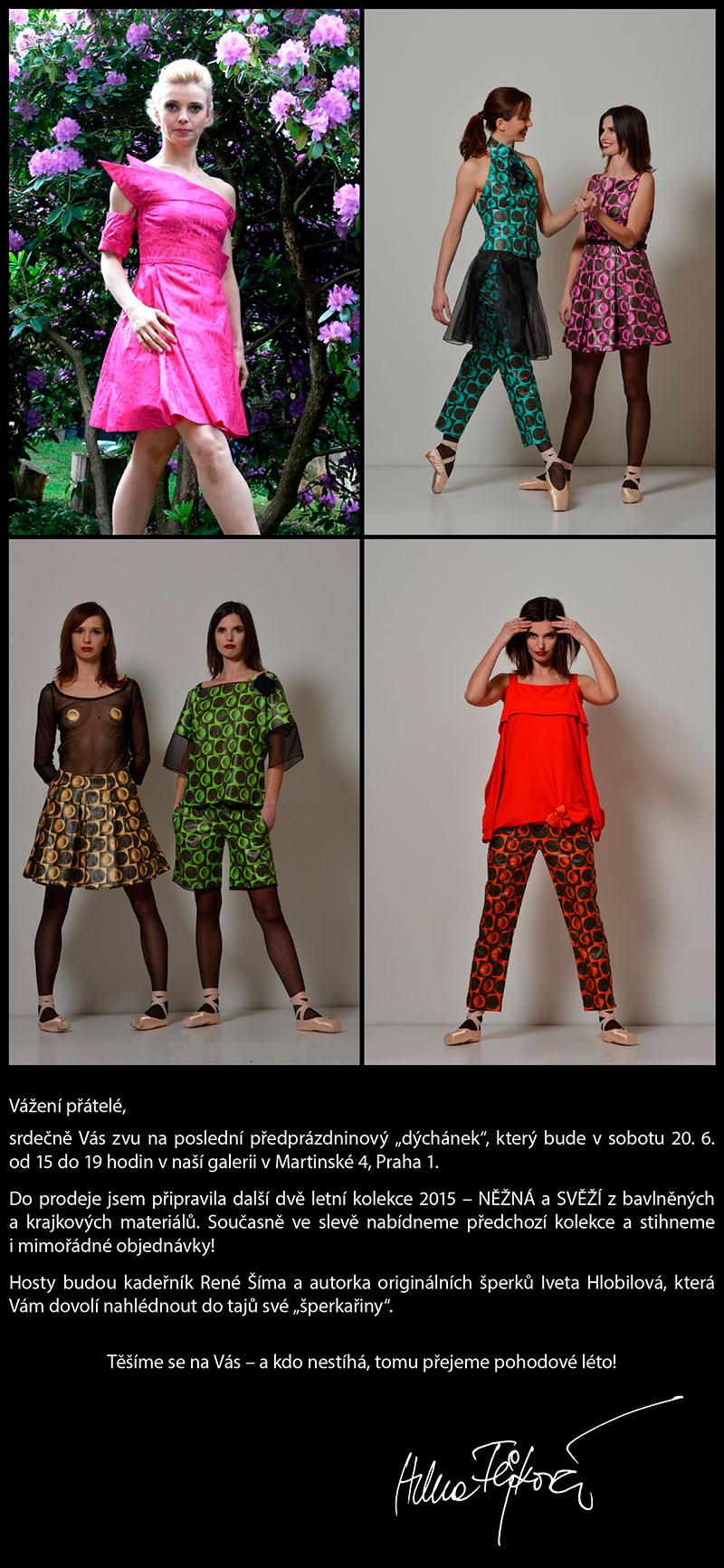 Helena Fejková Prague - módní originální oděvní design - prodej ... 78d6f9b636
